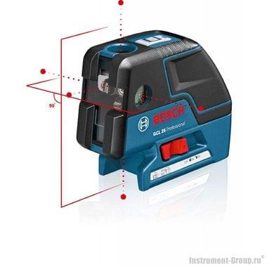 Комби-лазер (линейный + точечный) Bosch GCL 25 (0601066B00)