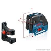 Комби-лазер (линейный + точечный) Bosch GCL 25 + BM1 в L-Boxx 136 (0601066B03)