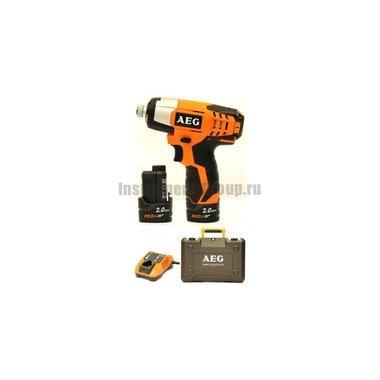Аккумуляторный гайковерт AEG 443965(BSS 12C LI-202C)