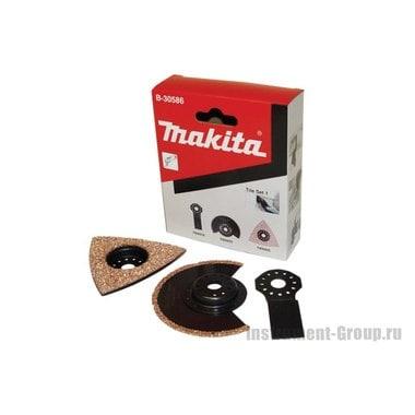 Набор насадок для работы с плиткой Makita B-30586 (3 шт.)
