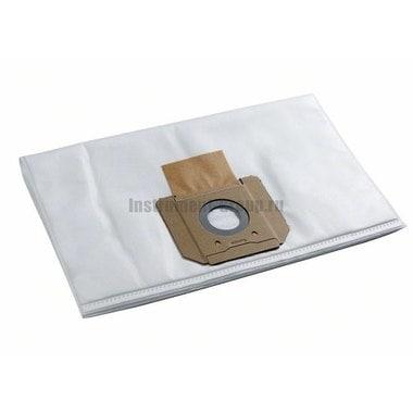 Мешок-пылесборник для сухой и влажной пыли для GAS 55 Bosch 2.607.432.038 (5 шт.; флис)