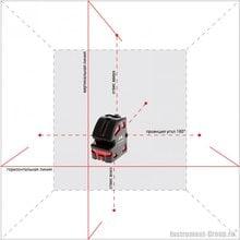 Линейно-точечный лазерный нивелир ADA 5D Crosspoint