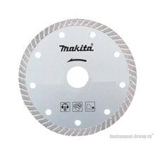 Диск алмазный сплошной Turbo Makita B-28064 (180х25.4/22.23 мм; для стр. материалов)