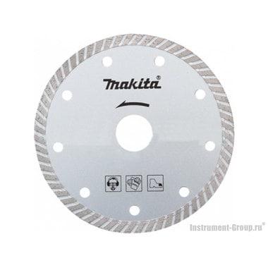 Диск алмазный сплошной Turbo Makita B-28070 (230х22.2 мм; для сухого реза; мах-6640 об/м)