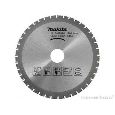 Диск пильный Makita B-34154 (185х30х1.8 мм; 64 зуб; по металлу)
