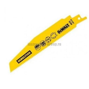 Полотно для сабельных пил 5 шт. DeWalt DT 2387 (BIM; 203/1.8-2.5 мм; для метал. листов, профиля)
