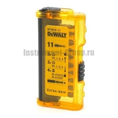 Набор бит DeWalt DT 7915 (11 шт.)