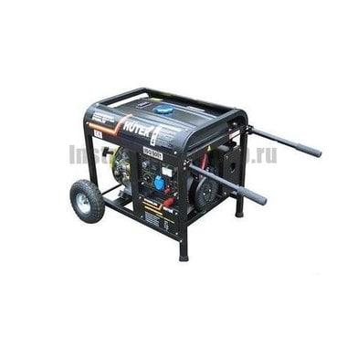 Генератор бензиновый HUTER DY6500LXW с функцией сварки, с колёсами