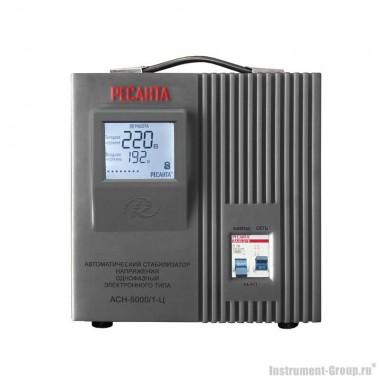 Однофазный стабилизатор напряжения Ресанта АСН-5000/1-Ц (цифровой)