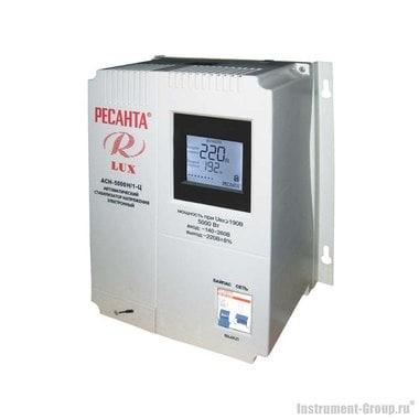 Однофазный стабилизатор напряжения Ресанта АСН-5000 Н/1-Ц Lux (цифровой настенный)