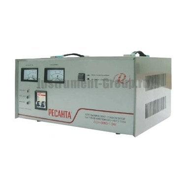 Однофазный стабилизатор напряжения Ресанта АСН-8000/1-ЭМ (электромеханический)