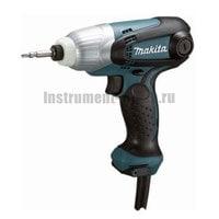 Ударный сетевой шуруповёрт Makita TD0101