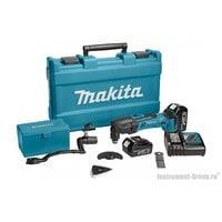 Аккумуляторный многофункциональный инструмент (мультитул) Makita DTM50RFEX1