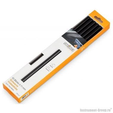 Клеевые стержни черные для бумаги, древесины, картона, фетра и материи Steinel 006792