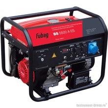 Генератор бензиновый с электростартером и коннектором автоматики Fubag BS 5500 A ES
