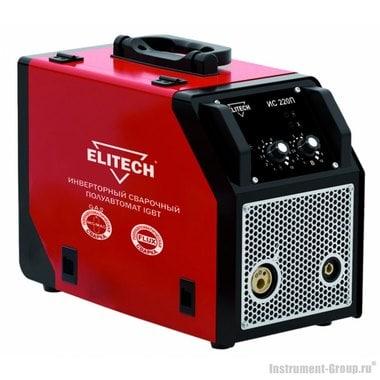 Инверторный сварочный полуавтомат MIG-MAG (IGBT) Elitech ИС 220П