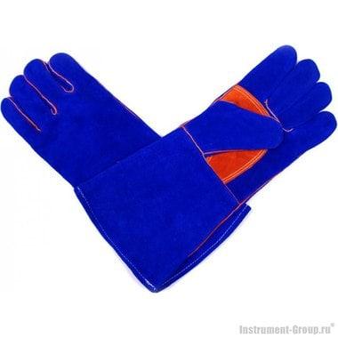 Перчатки сварочные Elitech 0606.015800