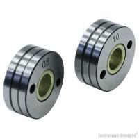 Ролик подающий  (V-образный) 2 шт. для стальной проволоки 0.8-1.0 мм Elitech 0606.012200