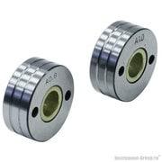 Ролик подающий (U-образный) 2 шт. для алюминиевой проволоки 0.8-1.0 мм Elitech 0606.012400