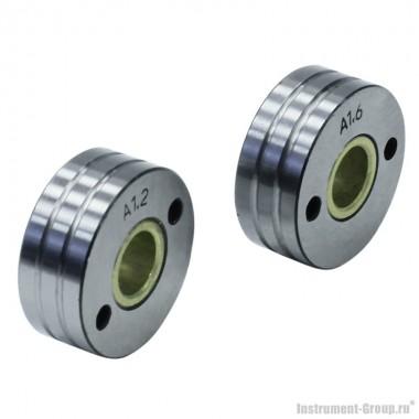Ролик подающий  (U-образный) 2 шт. для алюминиевой проволоки 1.2-1.6 мм Elitech 0606.012500