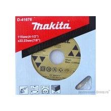 Диск алмазный сегментный  Economy Makita D-41676 (115х22,23 мм; сух. рез для бетона)