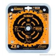 Диск пильный Extreme DeWalt DT 10300 (165х20х1.65 мм; 24 зуб.; по дереву)