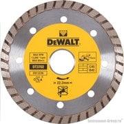 Диск алмазный сплошной турбо DeWalt DT 3702 (115х22.2х2.1 мм; для сухого реза д/мрамора,гранита