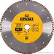 Диск алмазный сплошной турбо DeWalt DT 3732 (230х22.2х2.6 мм; для сухого реза стр. материалов)