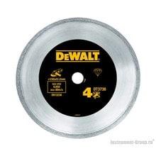 Диск алмазный сплошной DeWalt DT 3738 (230х22.2х2.1 мм; для сухого реза плитки)