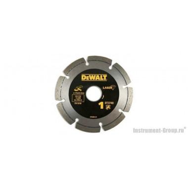 Диск алмазный сегментный DeWalt DT 3740 (115х22.2х2 мм; для сухого реза бетон, кирпича, плитки)