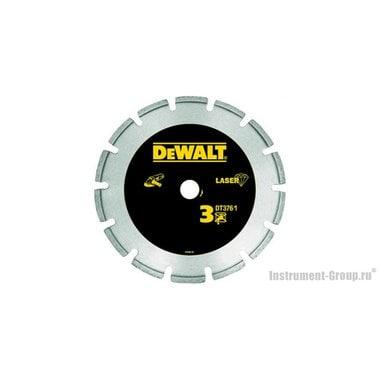 Диск алмазный сегментный DeWalt DT 3761 (125х22.2х2 мм; для сухого реза /гранита,железобетона