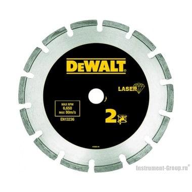 Диск алмазный сегментный DeWalt DT 3771 (125х22.2х2 мм; для сухого реза абразива, бетона)