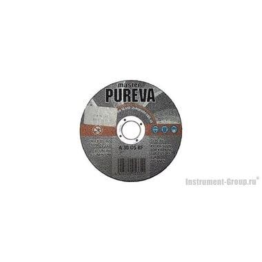 Диск отрезной прямой по алюминию PUREVA 005235 (115х22х2.5 мм)