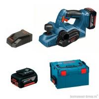 Аккумуляторный рубанок Bosch GHO 18 V-LI (06015A0303) L-BOXX