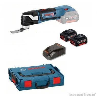Аккумуляторный многофункциональный инструмент Bosch GOP 18 V-EC (06018B0000) L-BOXX