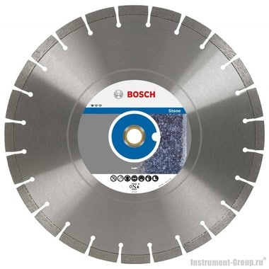 Алмазный диск Standard for Stone (300x20/25,4 мм) Bosch 2608602602