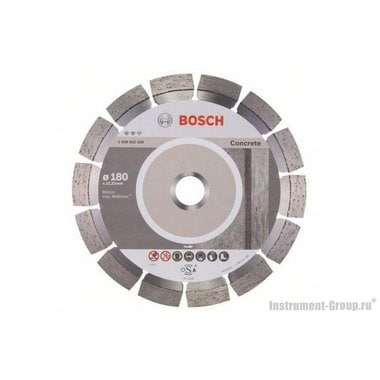 Алмазный диск Expert for Concrete (180x22,23 мм) Bosch 2608602558