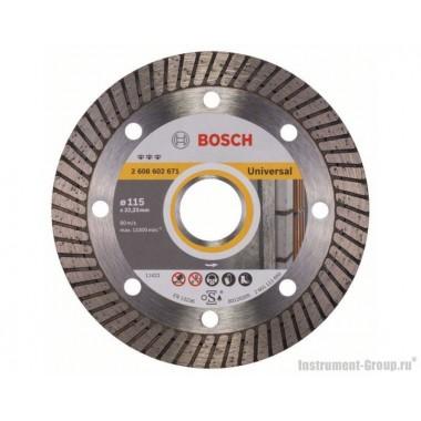 Алмазный диск Best for Universal Turbo (115x22,23 мм) Bosch 2608602671