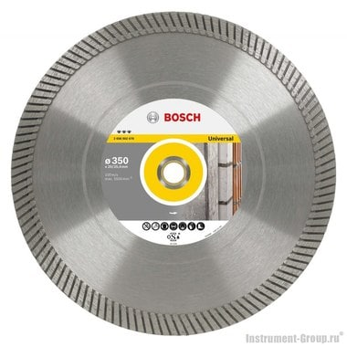 Алмазный диск Best for Universal Turbo (350x20/25,4 мм) Bosch 2608602678