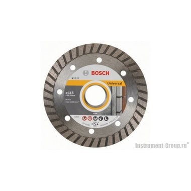 Алмазный диск Standard for Universal Turbo (115x22,23 мм; 10 шт.) Bosch 2608603249