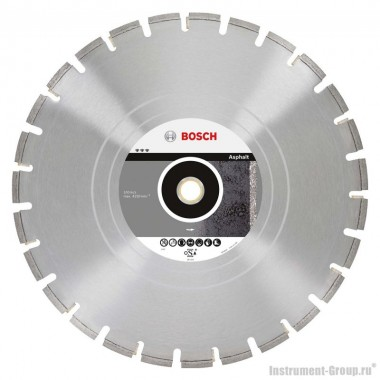 Алмазный диск Best for Asphalt (300x25,4/30 мм) Bosch 2608602515