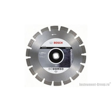 Алмазный диск Best for Asphalt (300x20/25,4 мм) Bosch 2608603640