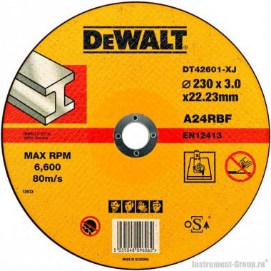 Диск отрезной по металлу DeWalt DT 42601 (230х22.2х3 мм)