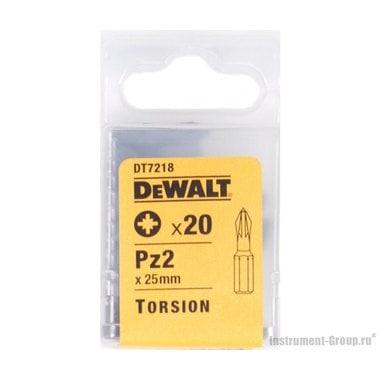 Биты Рozidriv 2 (25 мм; 20 шт.) DeWalt DT 7218