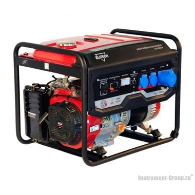 Генератор бензиновый Elitech СГБ 6500 Р