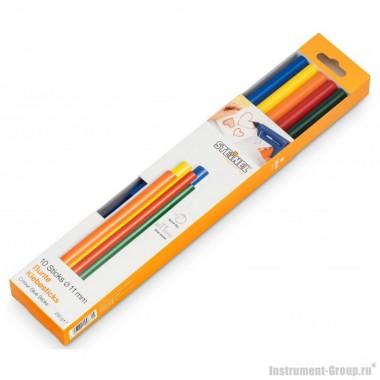 Клеевые стержни разноцветные(11х250мм/250г) Steinel 006815