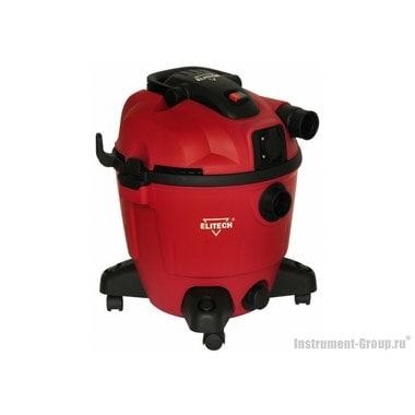 Пылесос для влажной и сухой уборки Elitech ПС 1235А