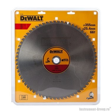 Диск пильный по металлу DeWalt DT 1926 (355х25.4х2.31 мм; 66 зуб.)