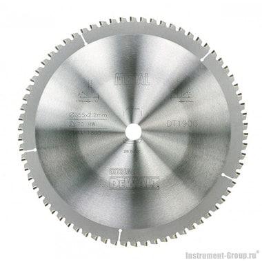 Диск пильный по металлу DeWalt DT 1900 (355х25.4х1.8 мм; 70 зуб.)