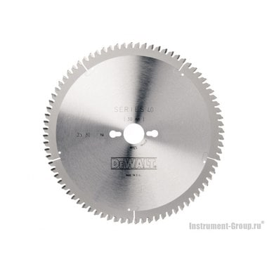 Диск пильный DeWalt DT 4287 (250х30х2.2 мм; 80 зуб; для ламината, пластика)